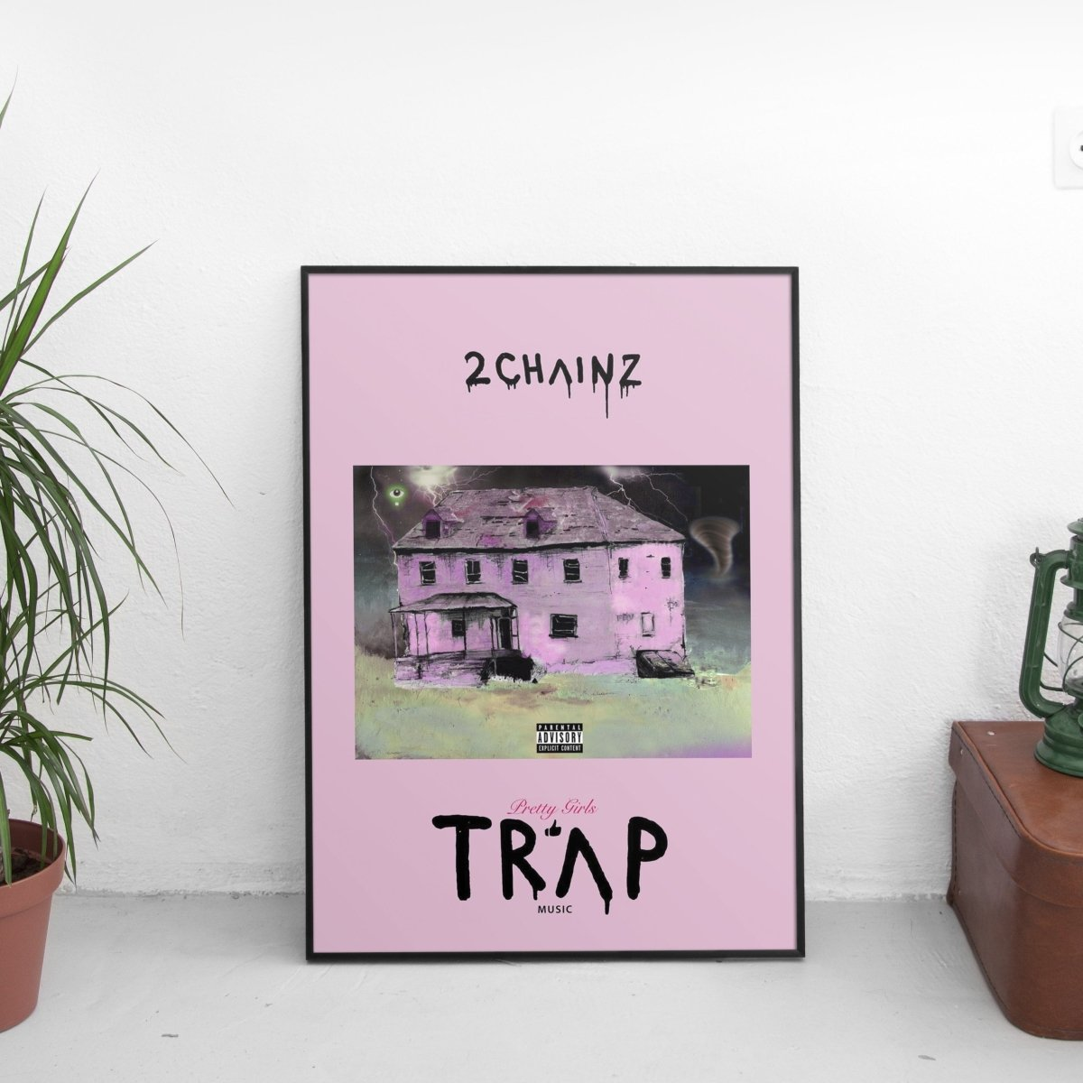 2 Chainz - Pretty Girls Like Trap Music Poster