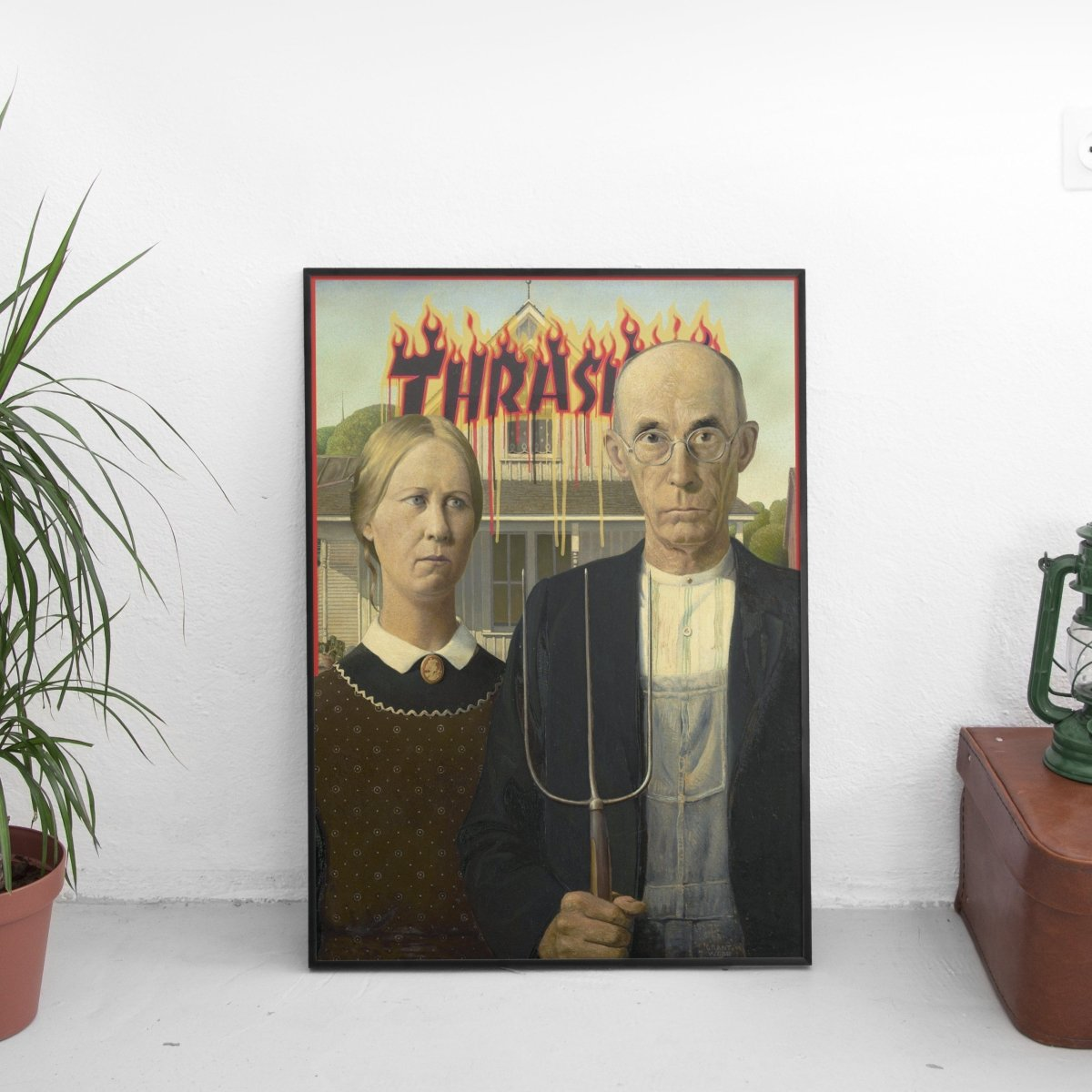 American Gothic x Thrasher Poster