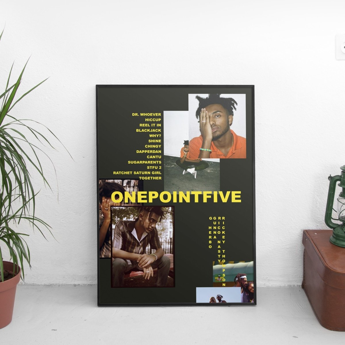 Amine - ONEPOINTFIVE Poster