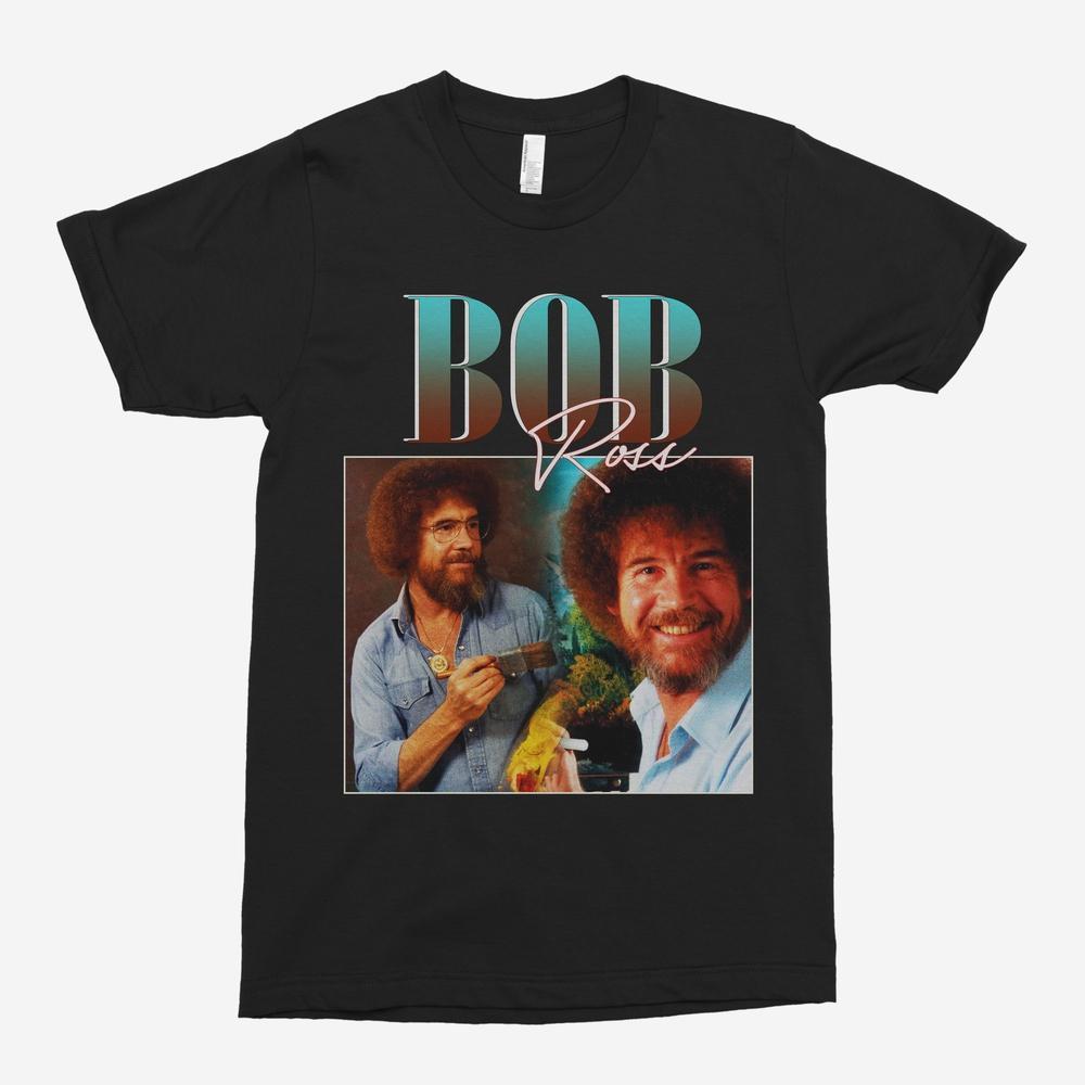 Bob Ross Vintage Unisex T-Shirt