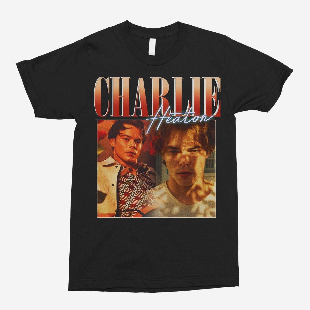 Charlie Heaton Vintage Unisex T-Shirt