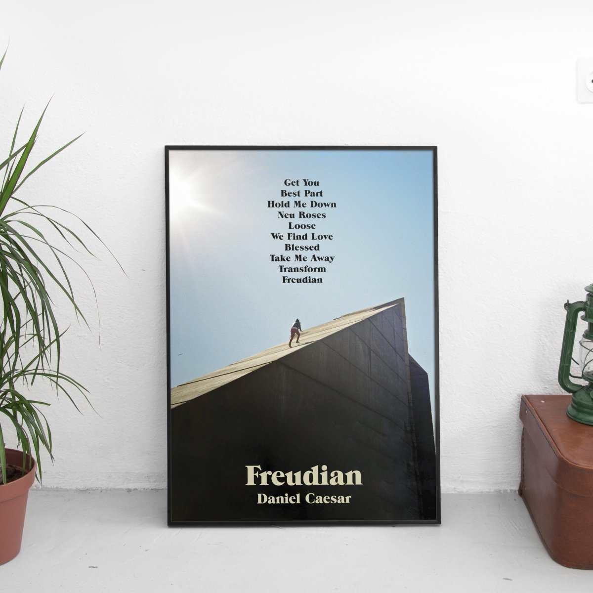 Daniel Caesar - Freudian Tracklist Poster
