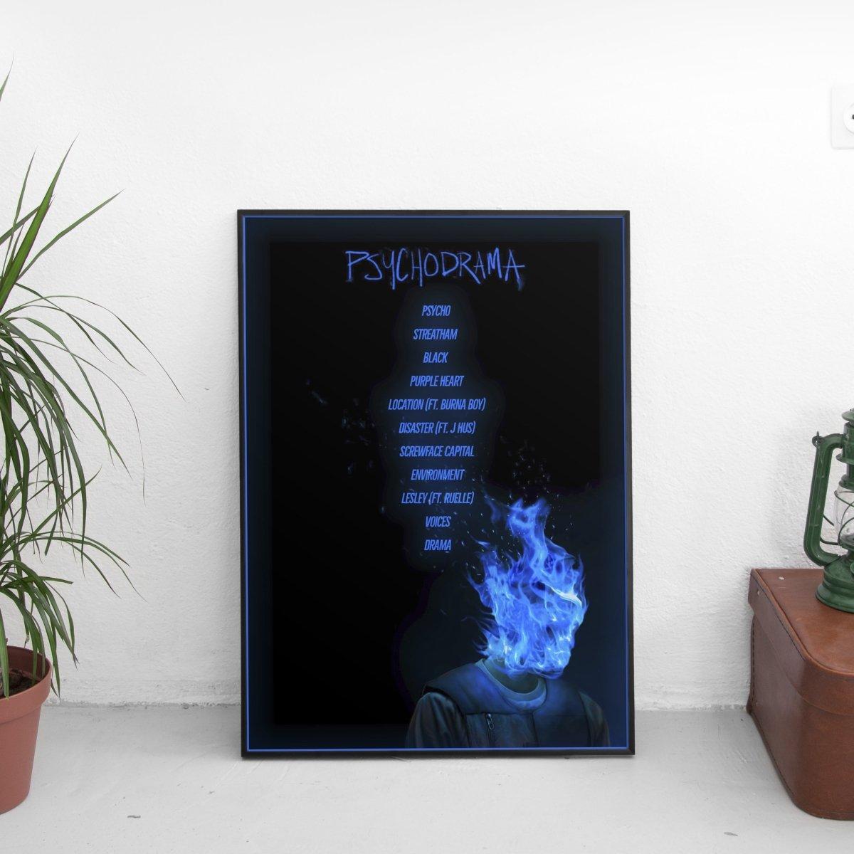 Dave - Psychodrama Tracklist Poster