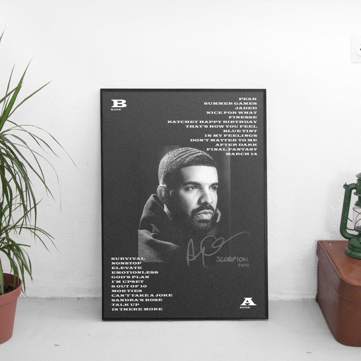 Drake - Scorpion Poster