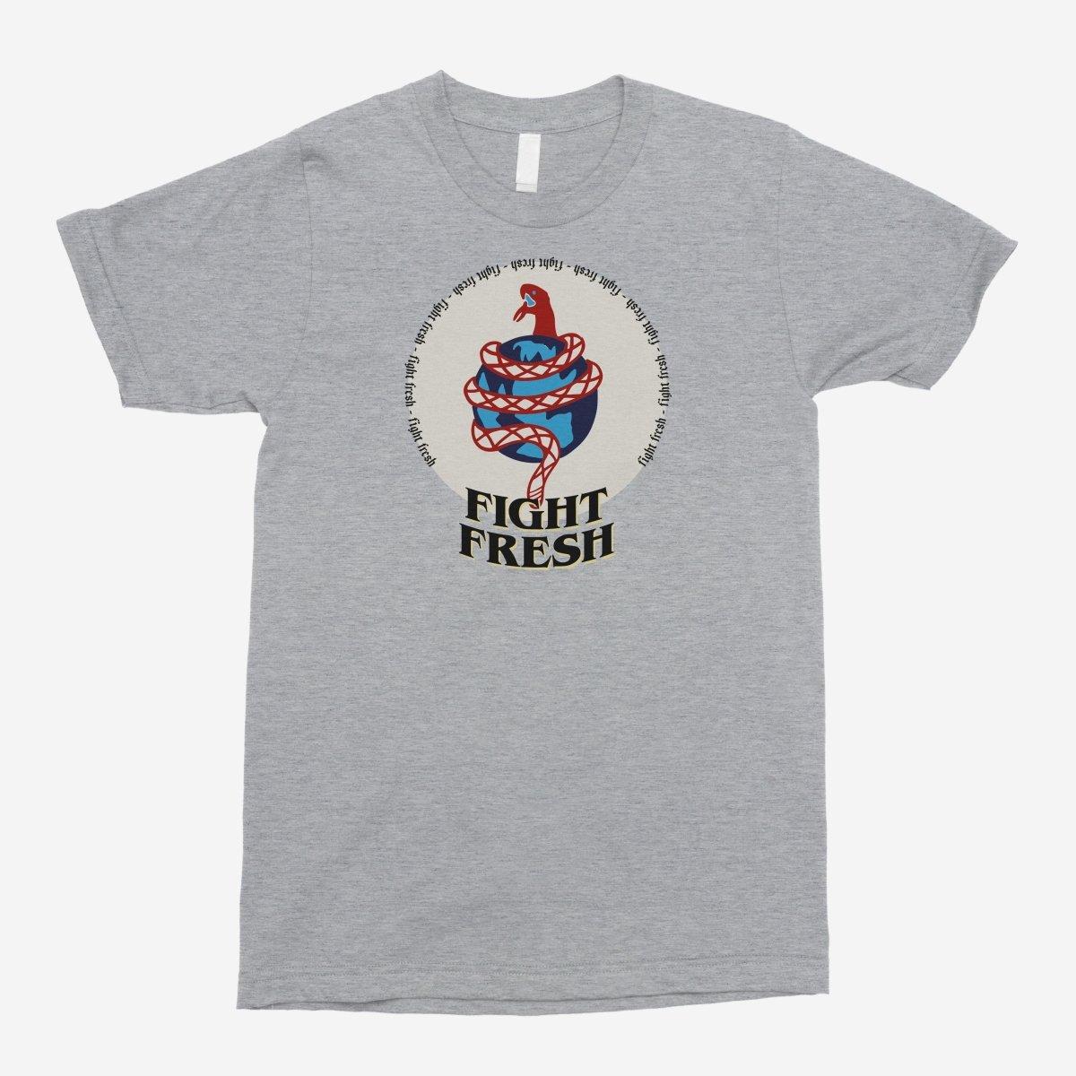 Fight Fresh - Snaked Globe Unisex T-Shirt