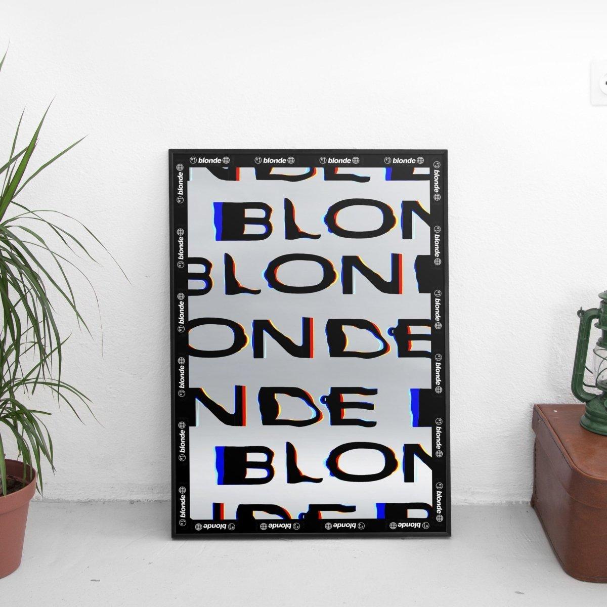 Frank Ocean - Blonde Magazine Poster