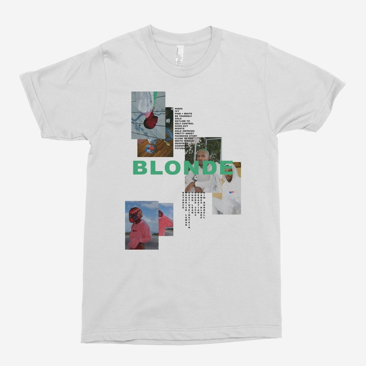 Frank Ocean - Blonde Mismatch Unisex T-Shirt