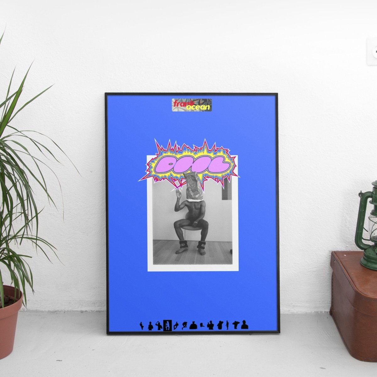 Frank Ocean - DHL Poster