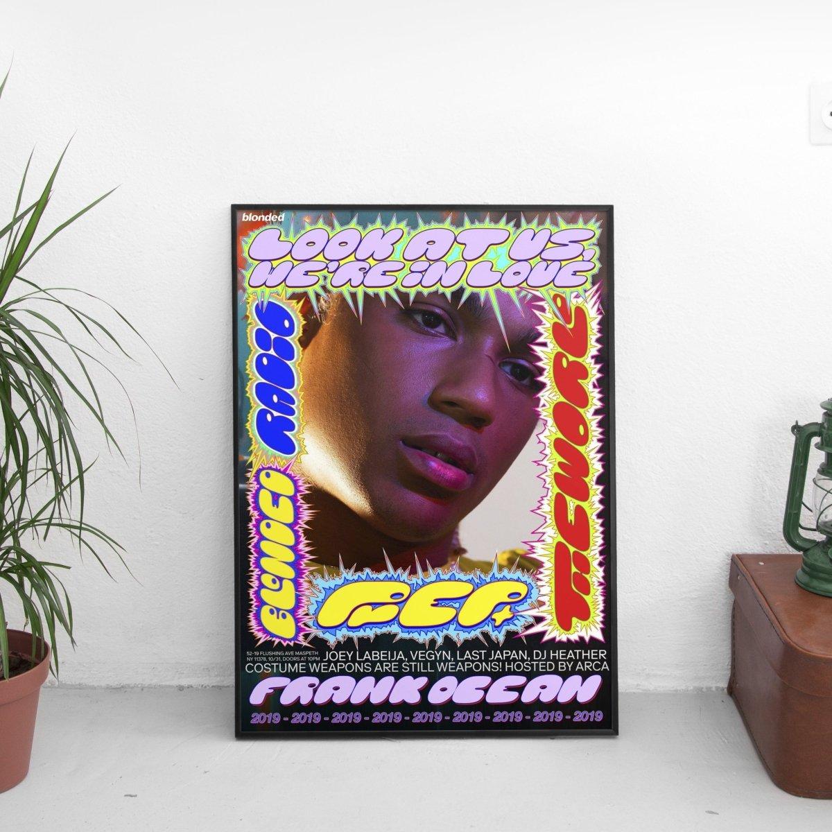 Frank Ocean - Prep 2019 Poster