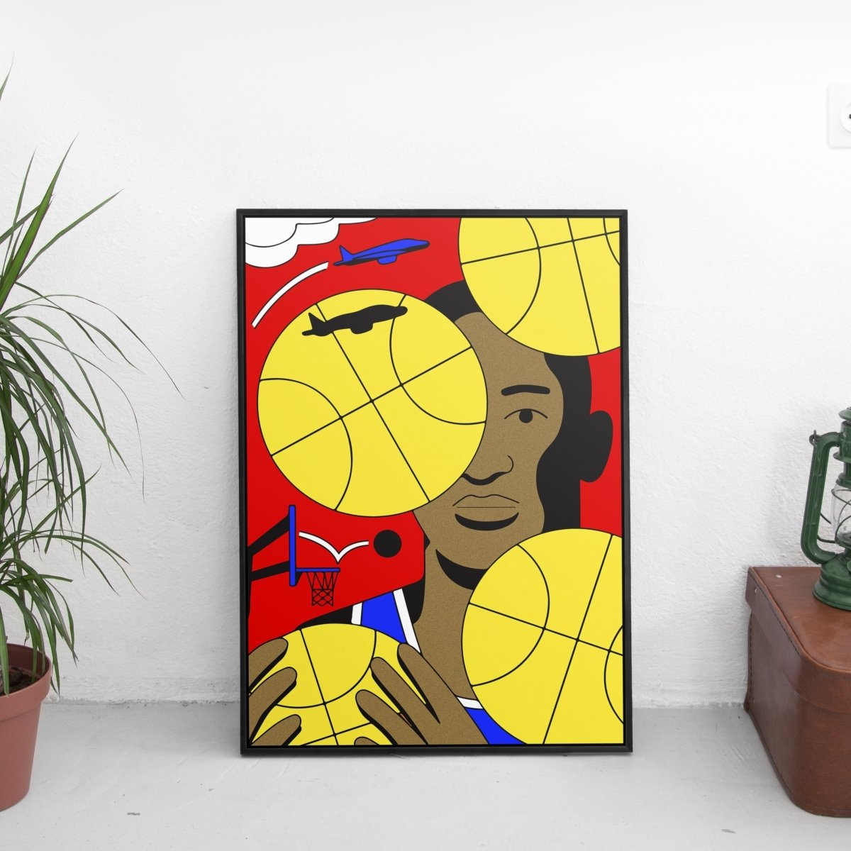 Fresh Basketball Poster