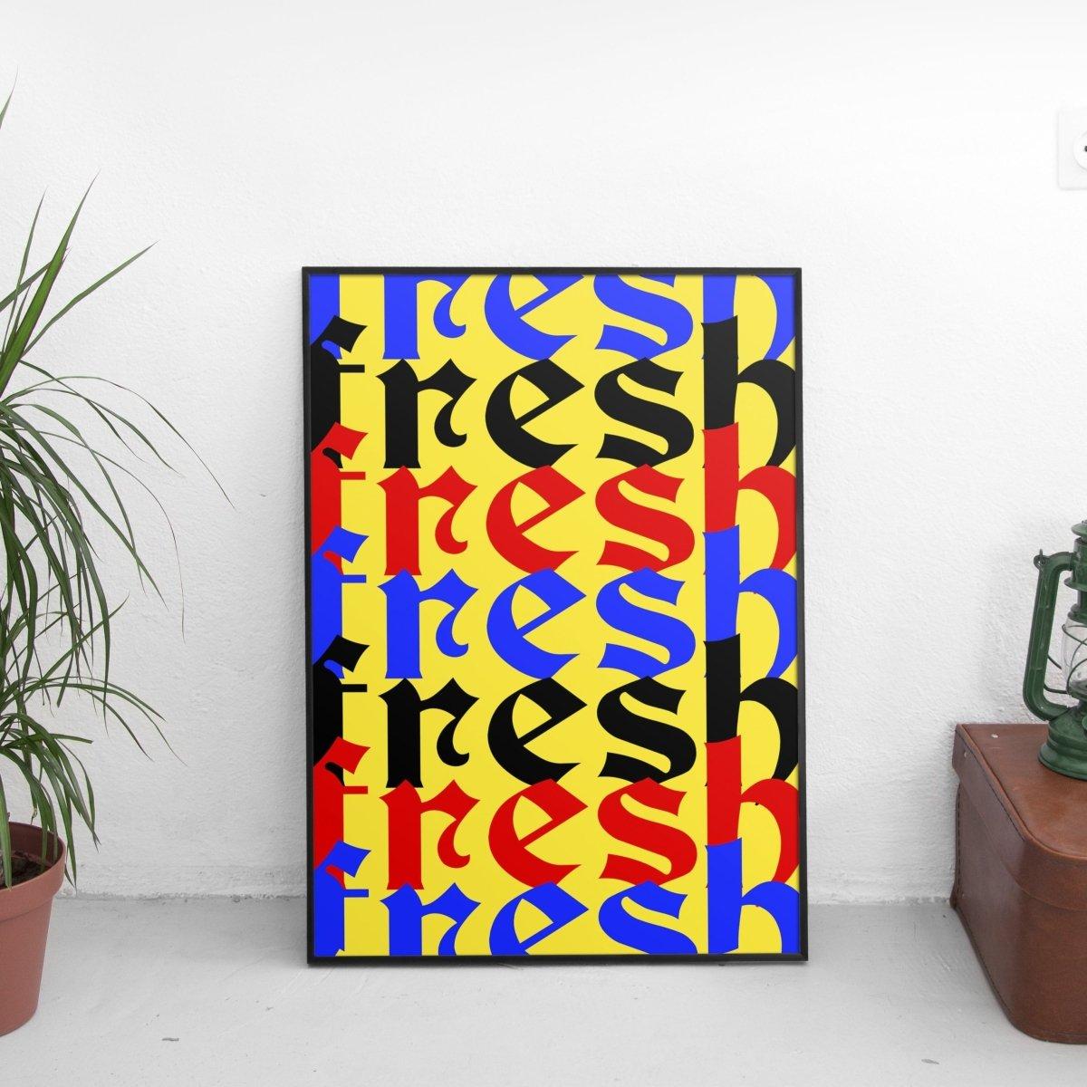 Fresh Overlay Poster