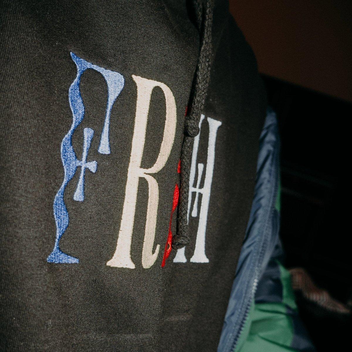 FRSH Multi Logo Embroidered Unisex Hoodie