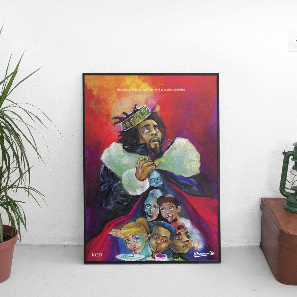 J. Cole - KOD Cover Art Poster