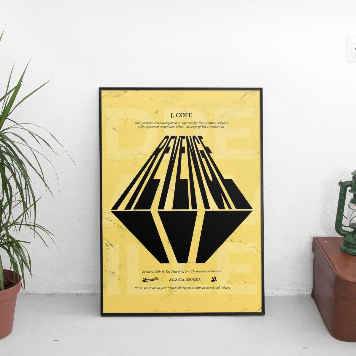 J. Cole - Revenge Poster