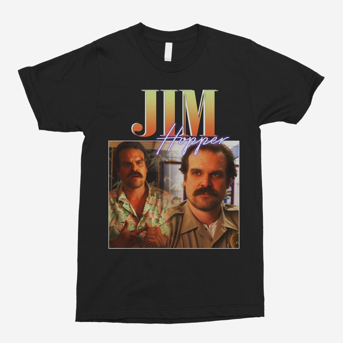 Jim Hopper Vintage Unisex T-Shirt
