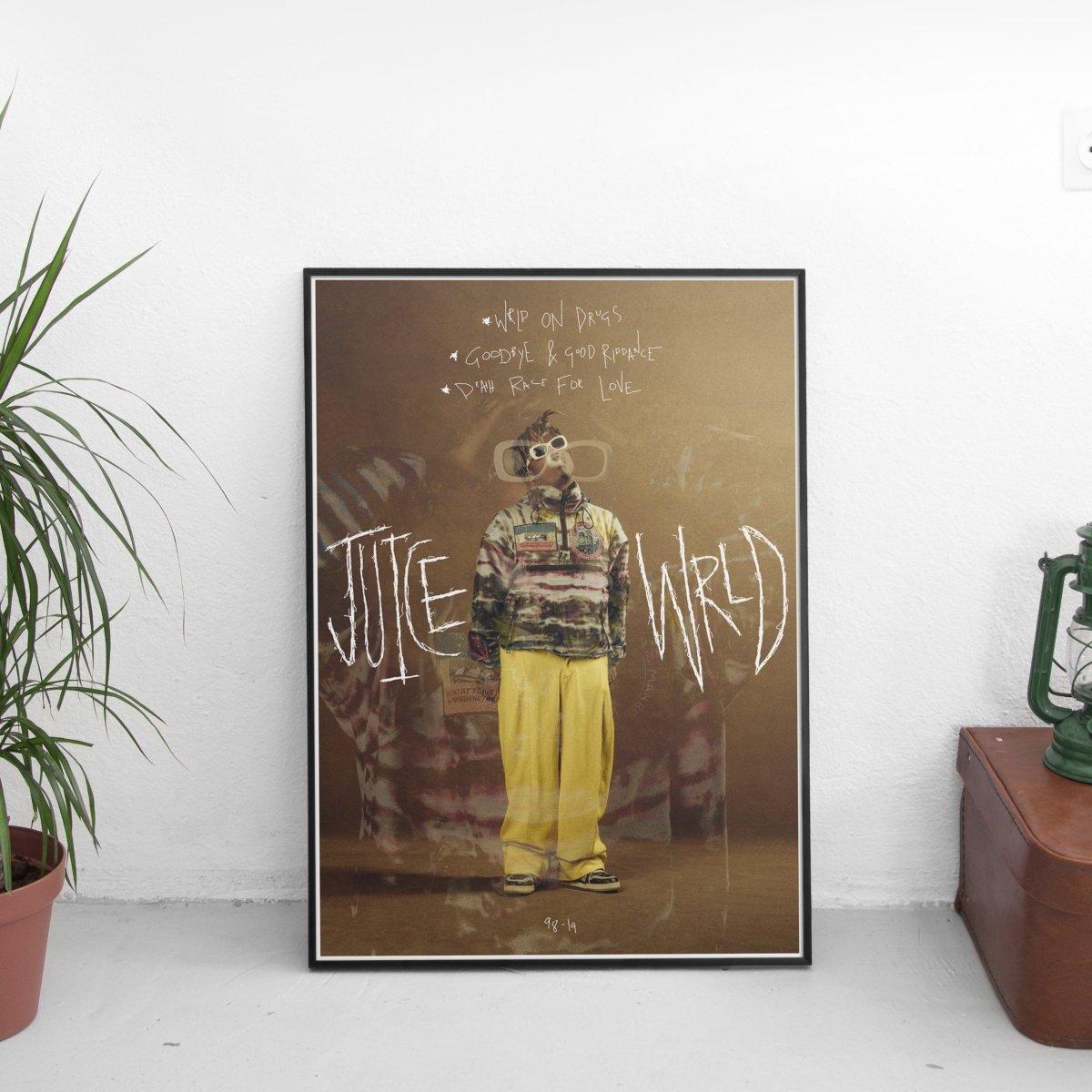Juice Wrld - 98-19 Scribble Poster