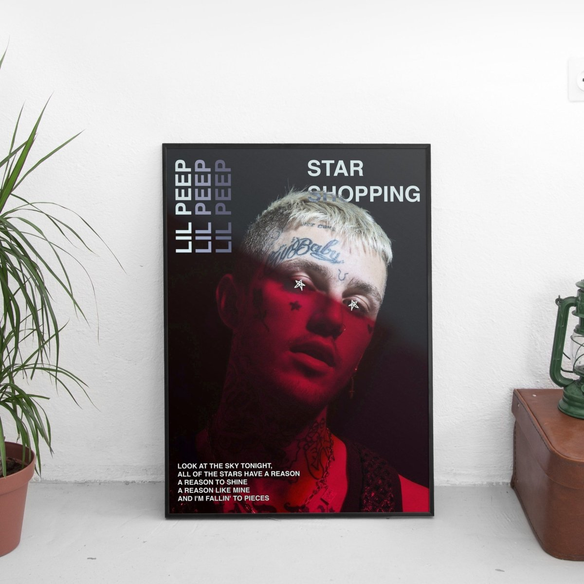 Lil Peep - Star Shopping Poster