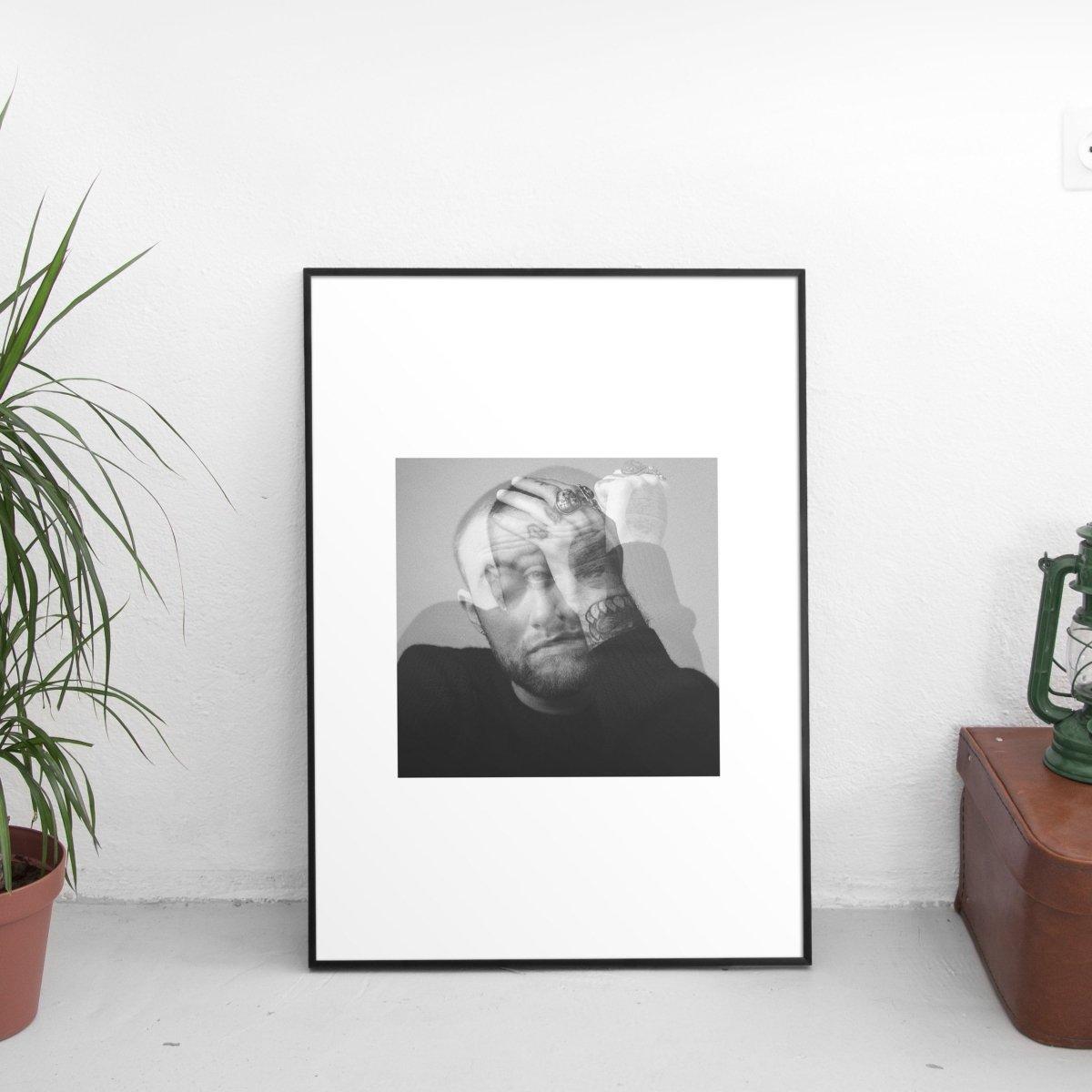 Mac Miller - Circles Cover Art Poster
