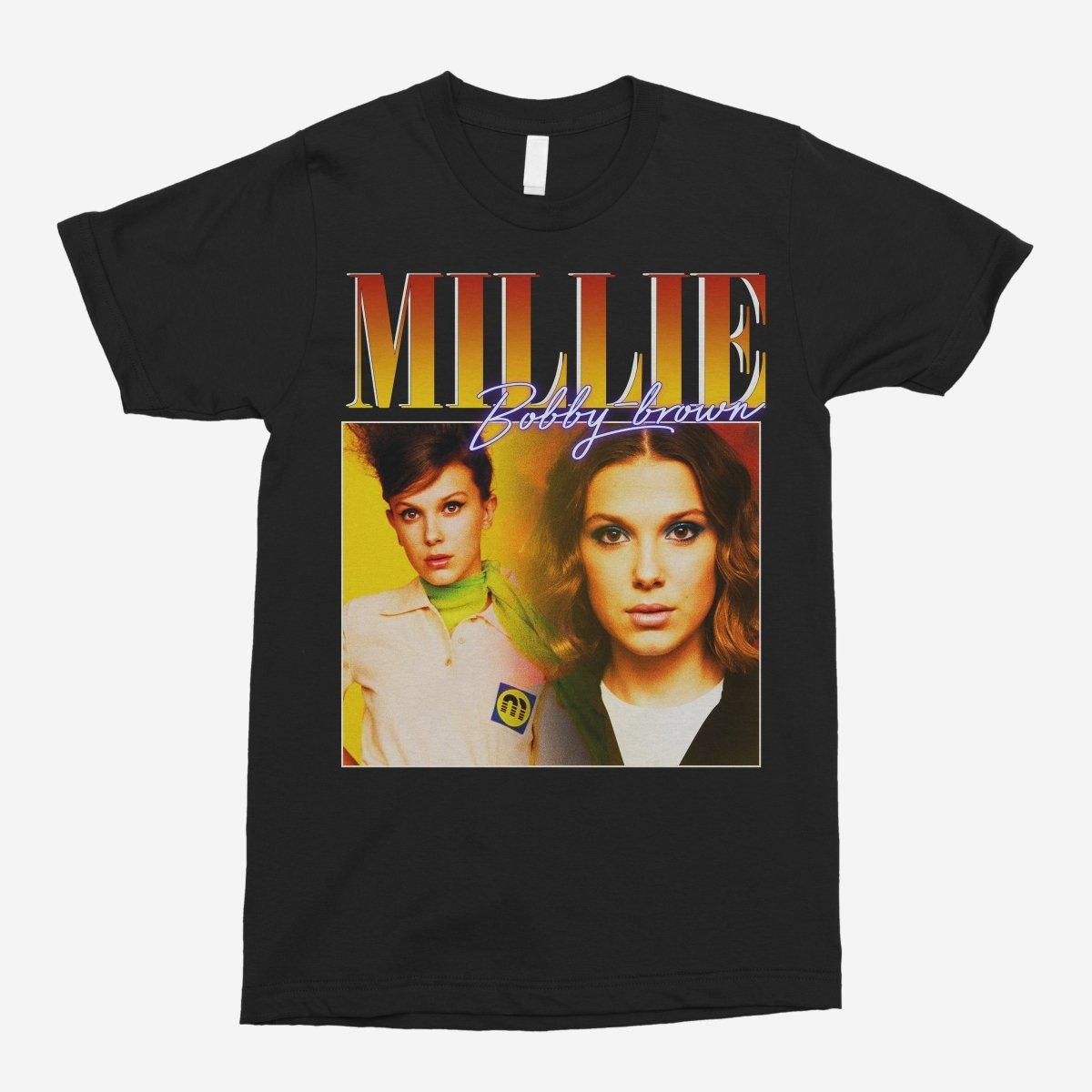 Millie Bobby-Brown Vintage Unisex T-Shirt