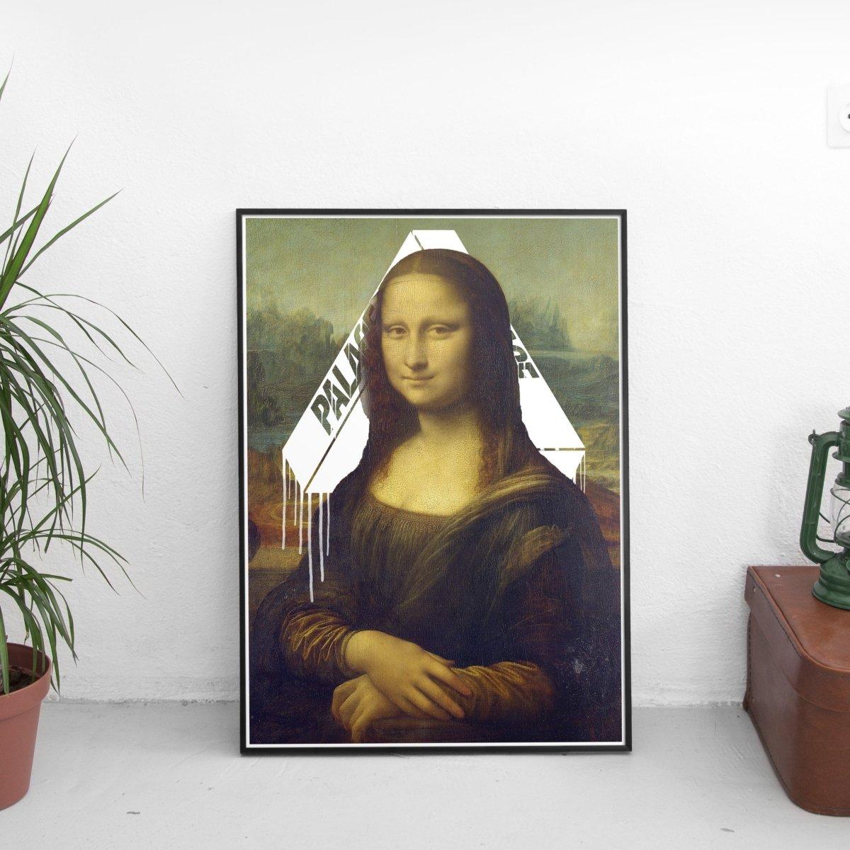 Mona Lisa x Palace Poster