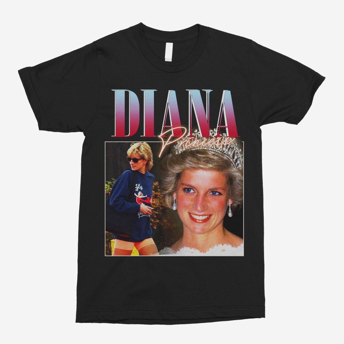Princess Diana Vintage Unisex T-Shirt