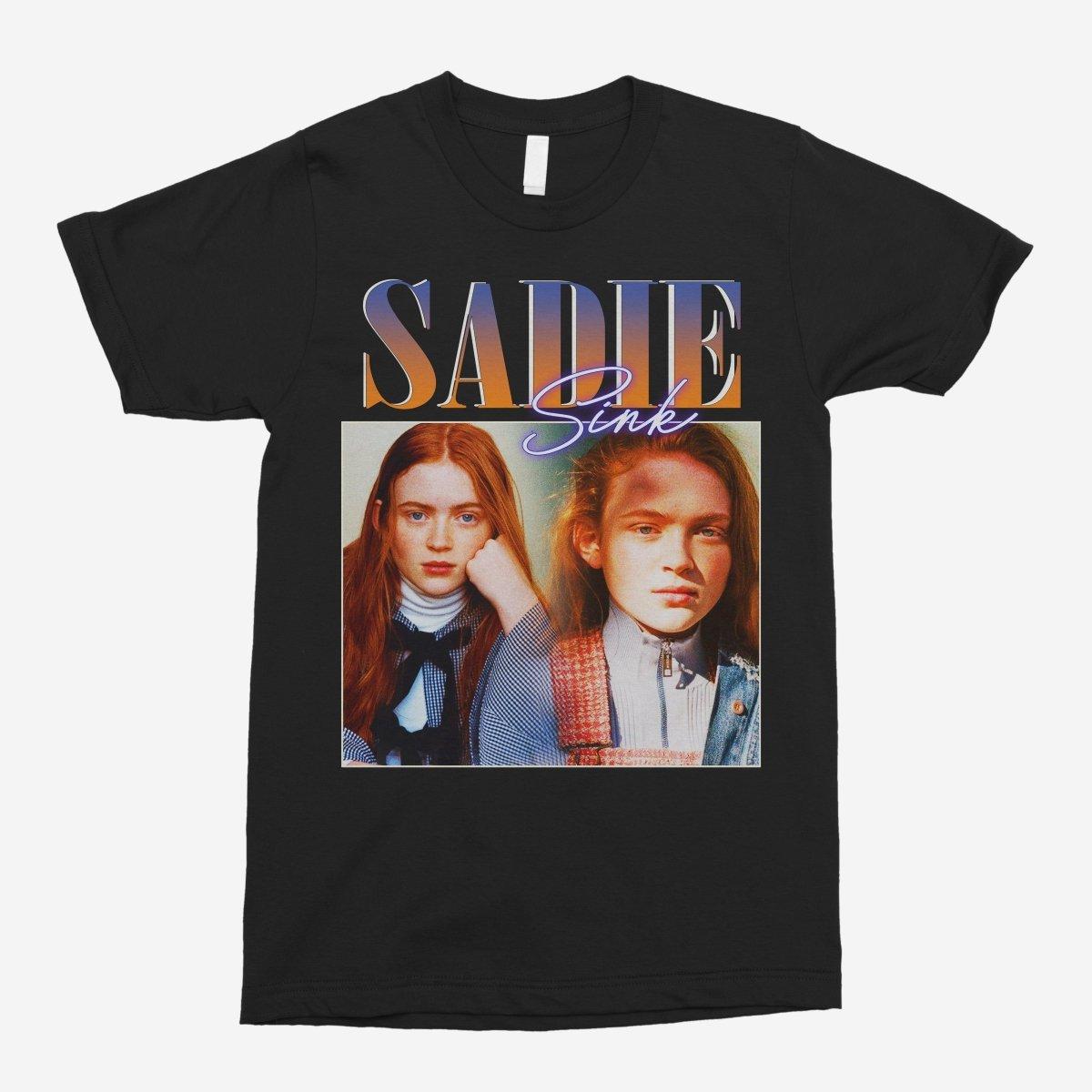 Sadie Sink Vintage Unisex T-Shirt