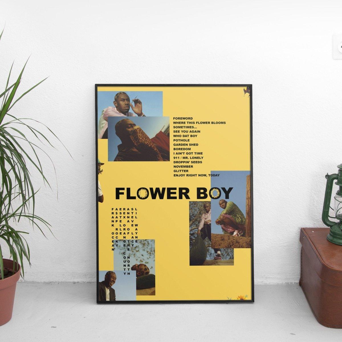 Tyler The Creator - Flower Boy Mismatch Poster