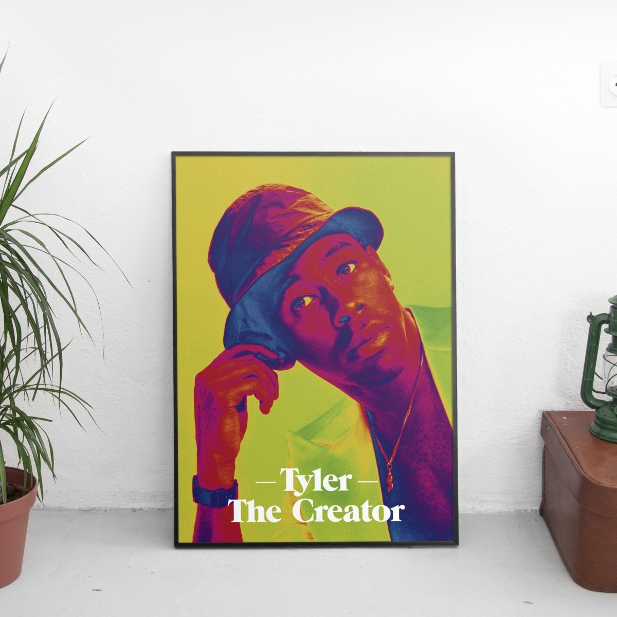 Tyler The Creator Psychedelic Poster