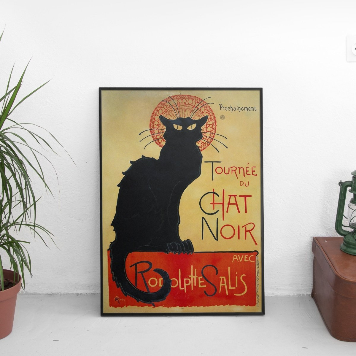 Vintage Chat Noir Poster