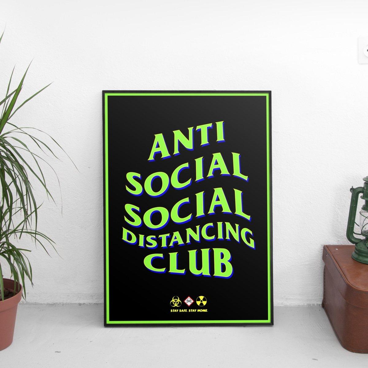 Anti Social Social Distancing Club #3 Poster