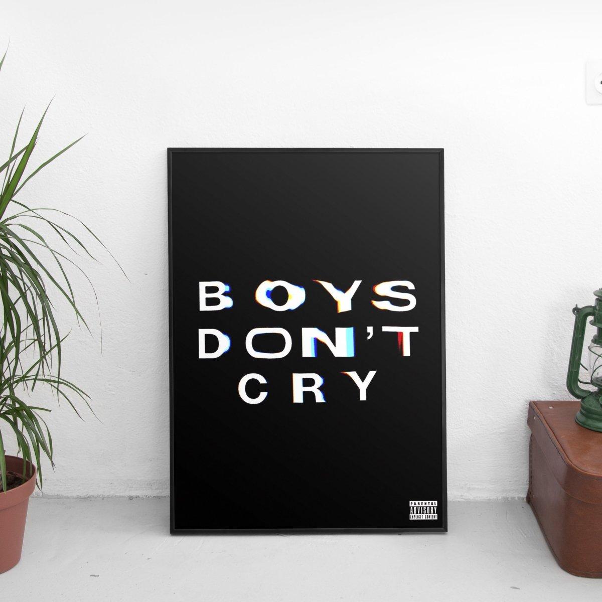 Frank Ocean - Boys Don't Cry Logo Poster