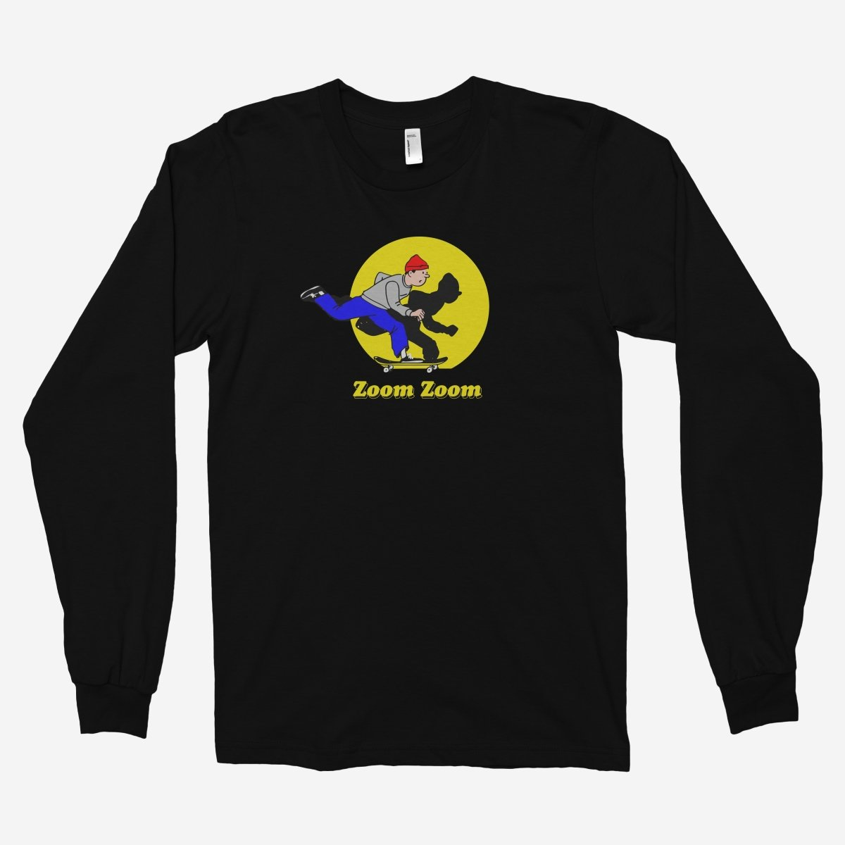 Zoom Zoom Unisex Long Sleeve T-Shirt