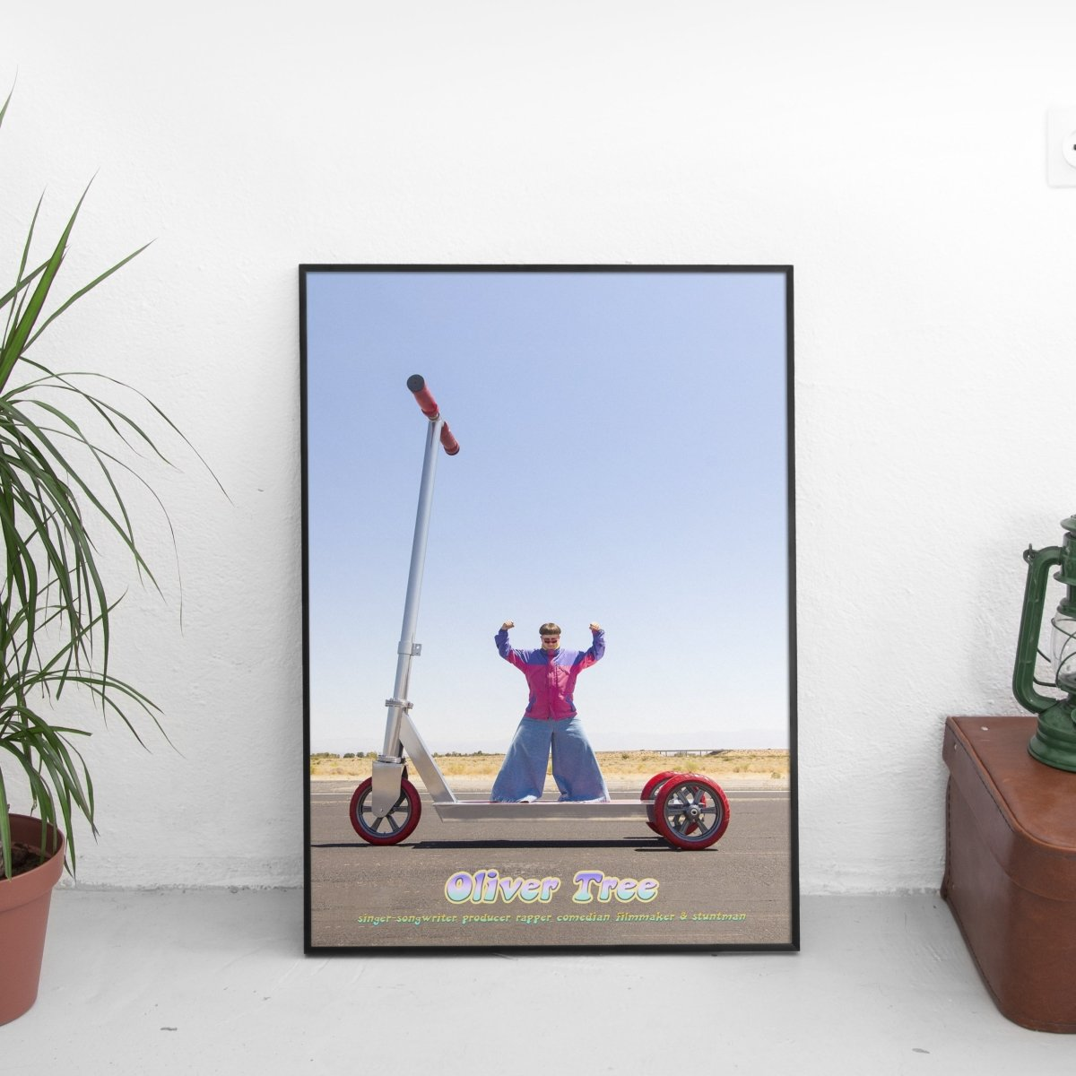 Oliver Tree - Scooter Poster