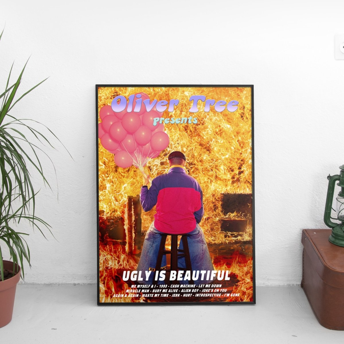 Oliver Tree - Ugly Is Beautiful Tracklist Poster