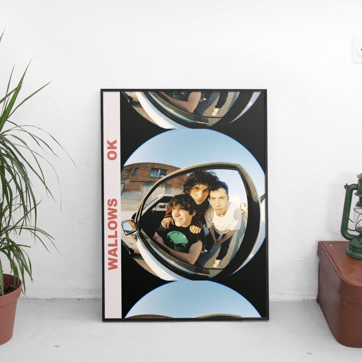 Wallows - Ok Poster