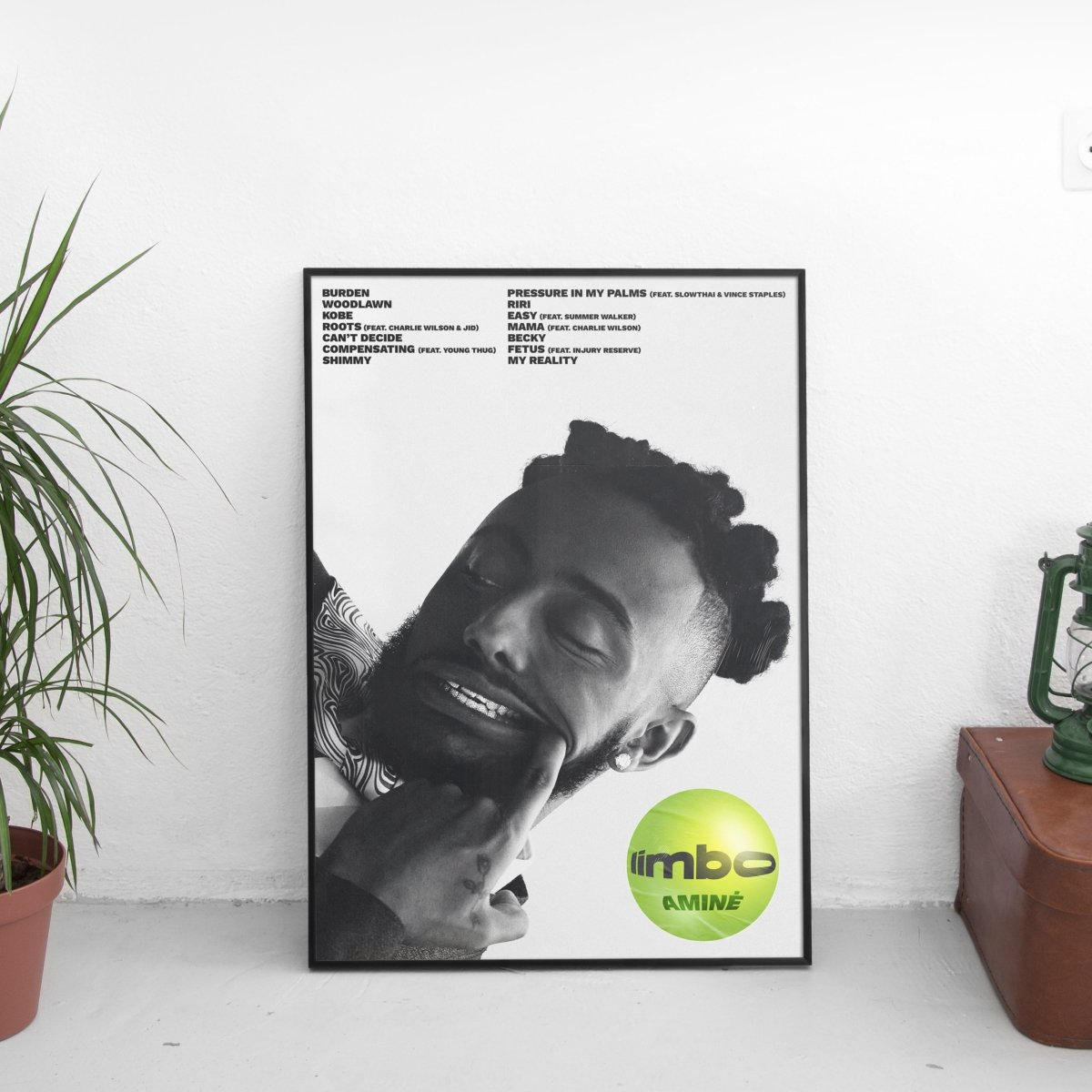 Amine - Limbo Tracklist Poster