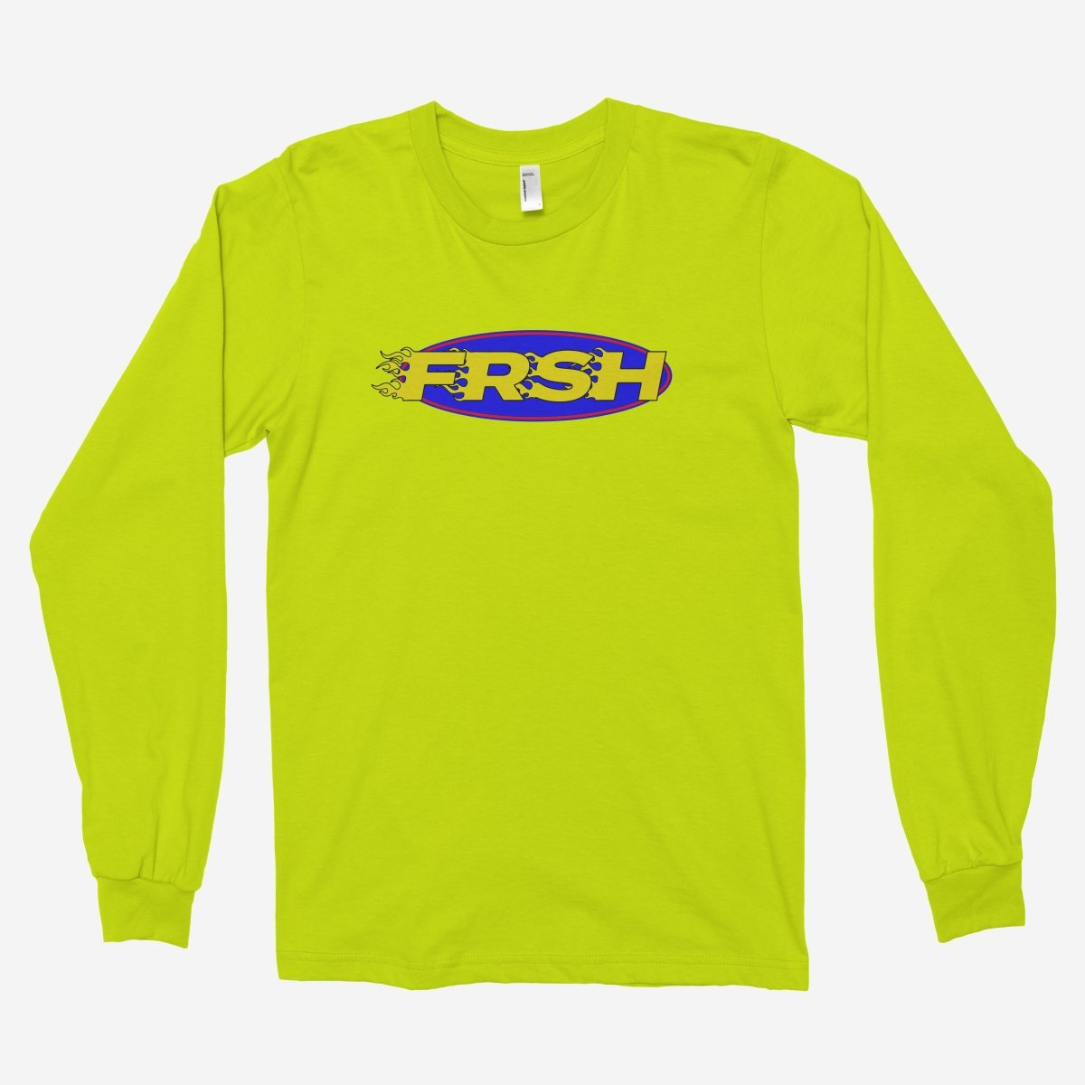 FRSH Flames Racing Unisex Long Sleeve T-Shirt