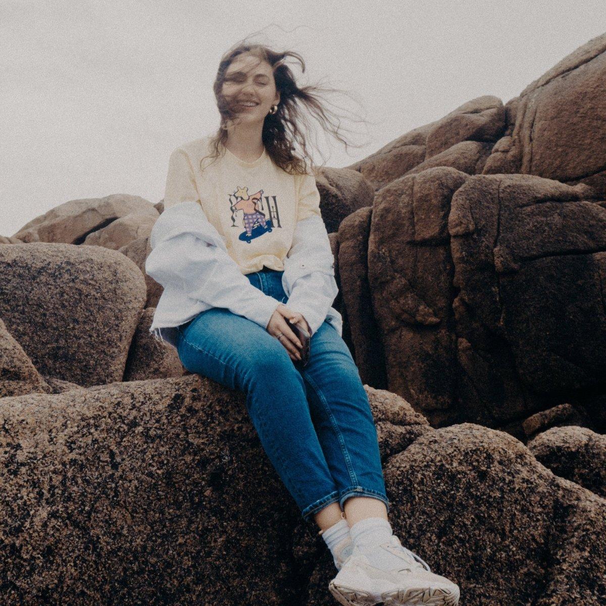 FRSH Skating Mousey Unisex T-Shirt