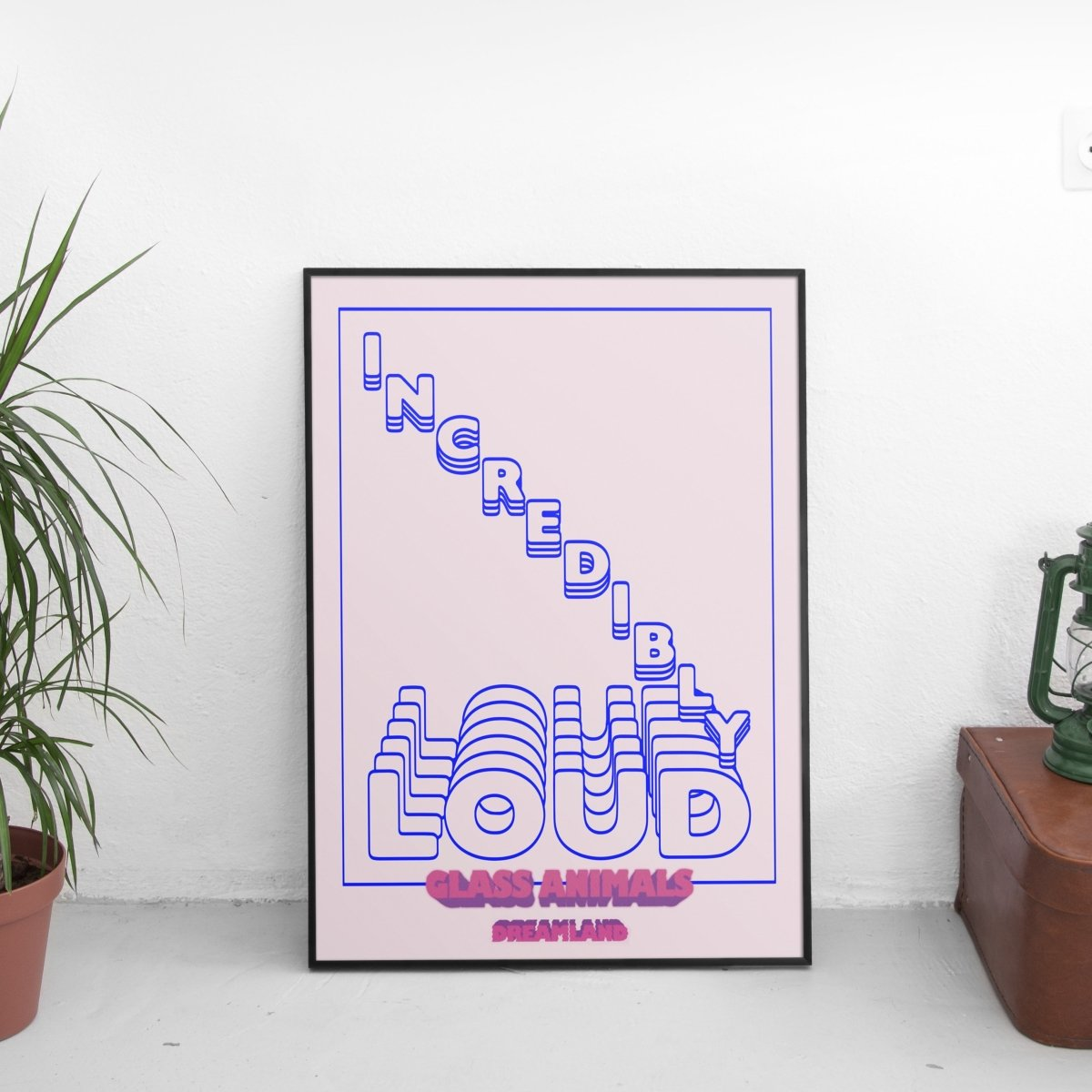 Glass Animals - Incredibly Loud (Dreamland) Poster