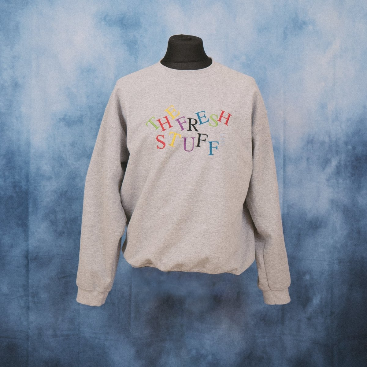 'The Fresh Stuff' Higgledy Unisex Embroidered Sweater