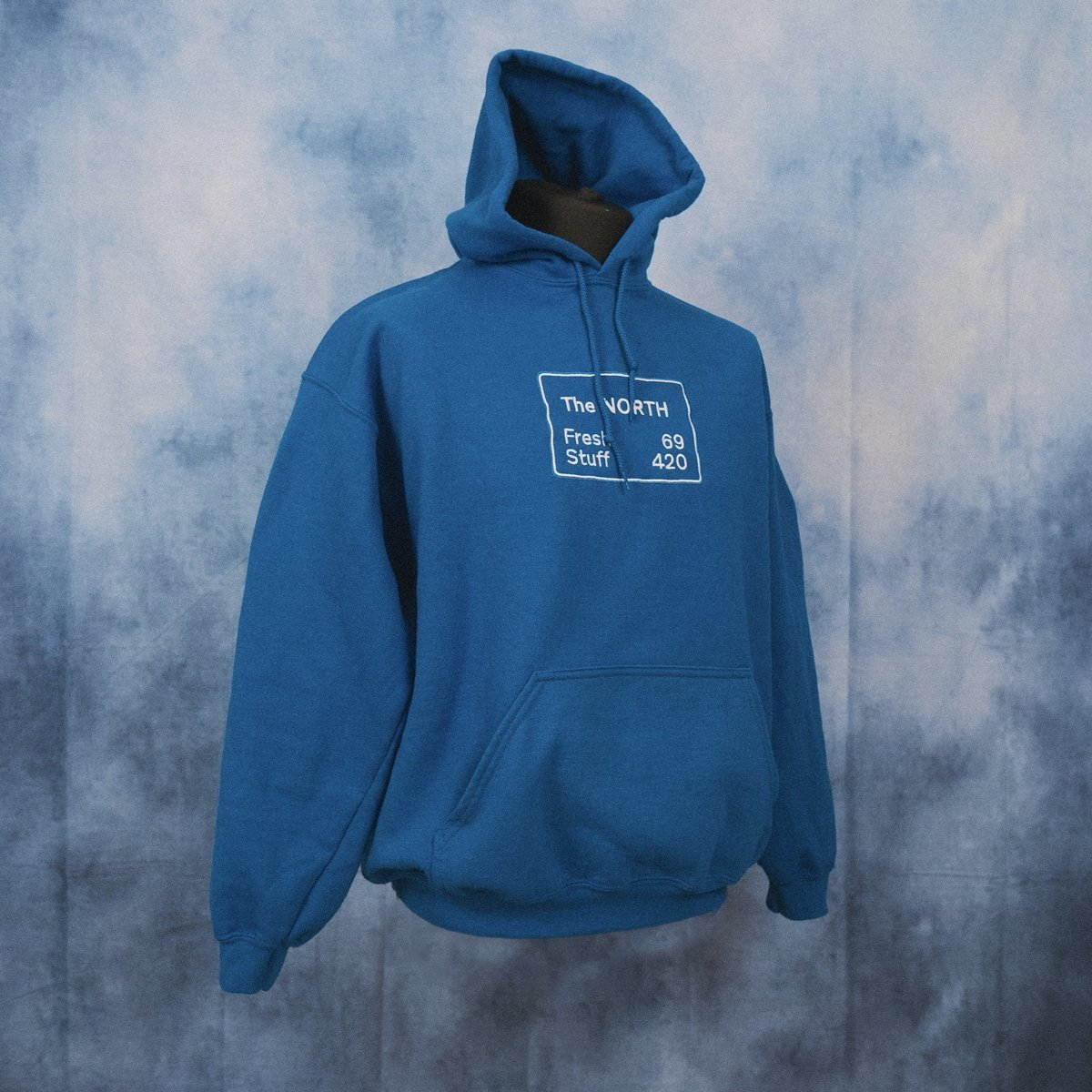 'The NORTH' Unisex Embroidered Hoodie