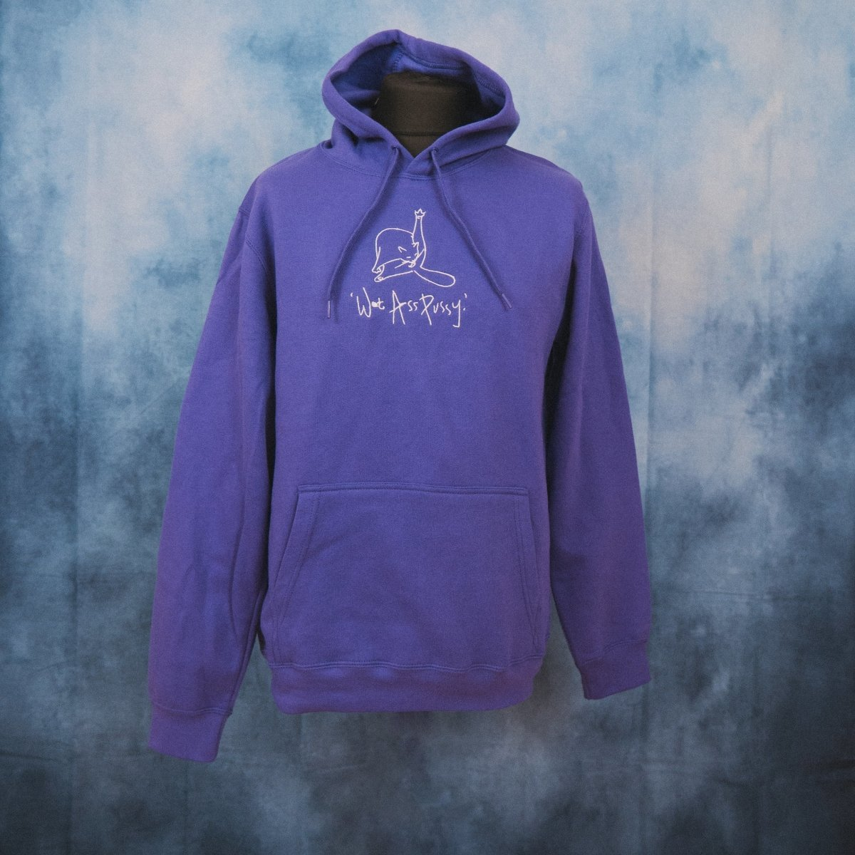 'Wet Ass Pussy' Unisex Embroidered Hoodie