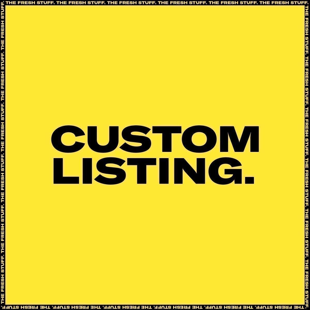 CUSTOM LISTING: For @Debbie Dixon - Inhaler Customs [A2 + A3]