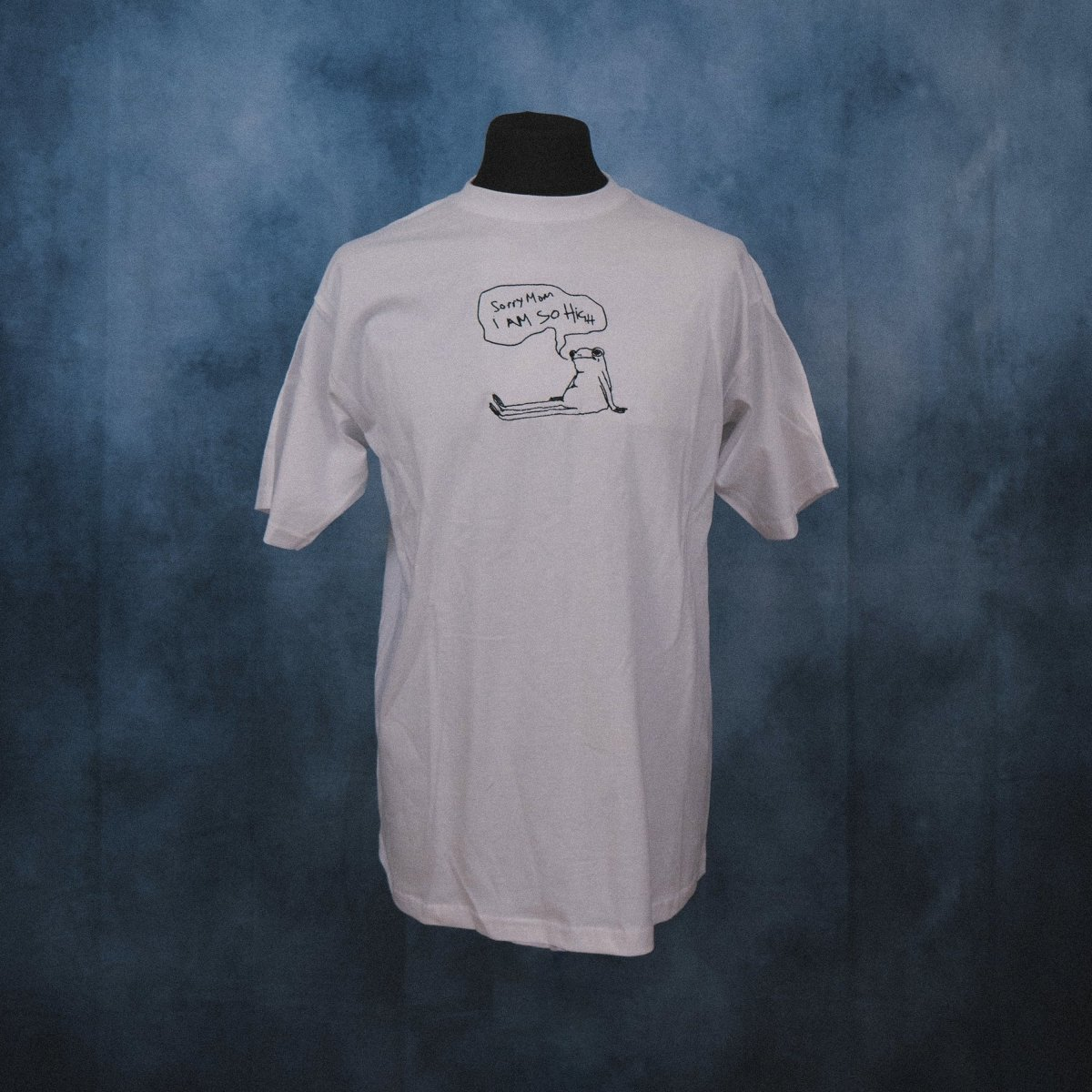 'High Frog' Unisex Embroidered T-Shirt