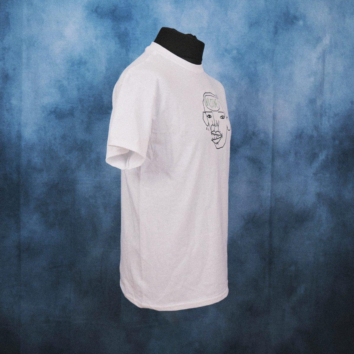 'Nicotine Head' Unisex Embroidered T-Shirt