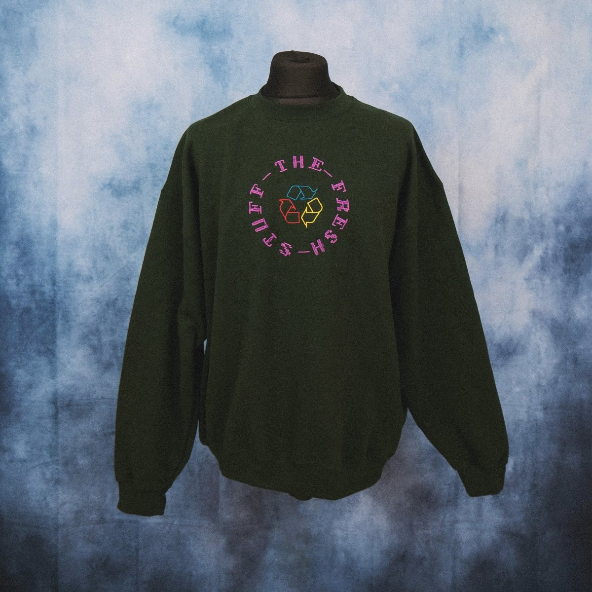 'TFS Recycling' Embroidered Sweater