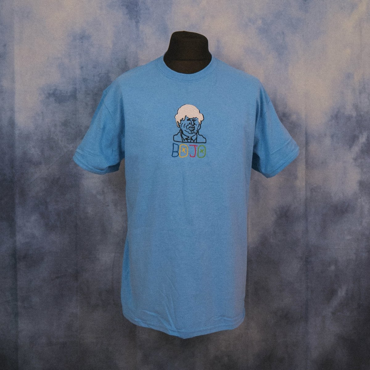 'BOJO' (Boris Johnson) Unisex Embroidered T-Shirt