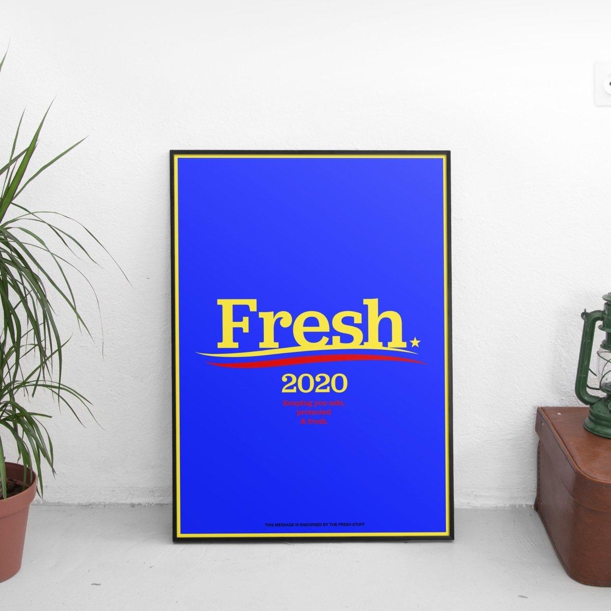 Fresh 2020 Alternative Poster