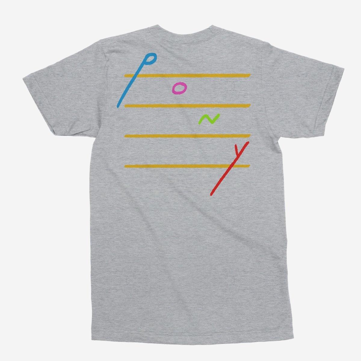 Rex Orange County - Pony Cascading Notes Unisex T-Shirt