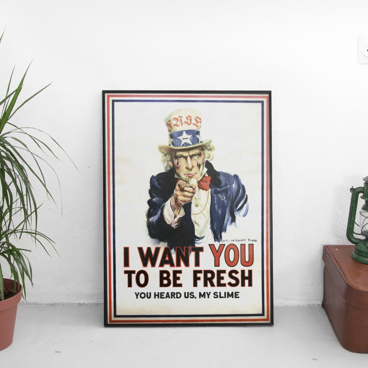 The Fresh Stuff x Uncle Sam Poster